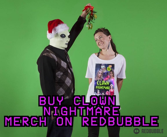 clown nightmare merch